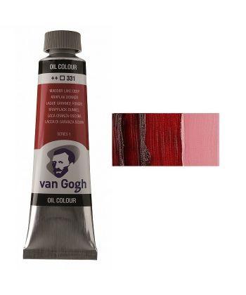 Краска масляная Van Gogh 331 Мареновый красный темный 40 мл Royal Talens