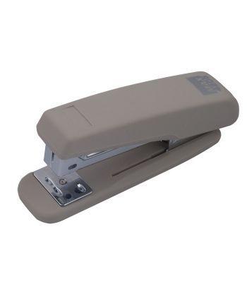 Степлер №24 Buromax RUBBER TOUCH 20л пластик. серый BM.4205-09
