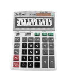 Калькулятор Brilliant 12 разрядов 2-питан. BS-7722M