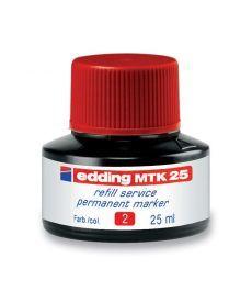 Чернила для маркеров Edding для заправки Permanent e-T25 красные e-MTK25/02