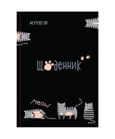 Дневник школьный Kite тв. переплёт Meow K19-262-3