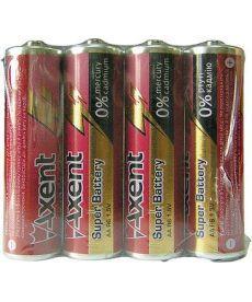 Батарейки АА R6 Axent 4шт 5556-1-А