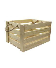 Ящик квадратный сосна 23х23х21см 4820149903323