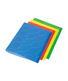 Папка с файлами Дисплей-книга Panta Plast А4 ассорти РР 20 файлов 0410-0032-99