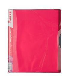 Папка с файлами Axent А4 дисплей-книга 40 файлов розовая 1140-10-A