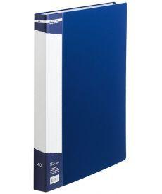 Папка c 40 файлами А4 синий