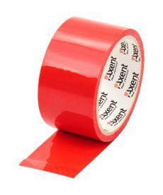 Лента клейкая Axent упаковочная скотч 48ммХ35м 40мкм красный 3044-06-A
