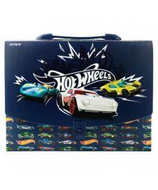 Портфель-коробка Kite А4 Hot Wheels HW19-209
