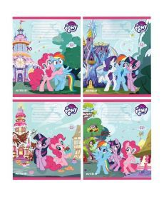 Тетрадь в косую 12 л. Kite My Little Pony lp19-235