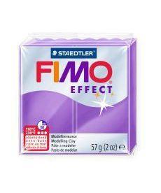 Пластика Effect Фиолетовая полупрозрачная 57г Fimo