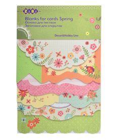 Заготовка ZiBi для открыток Spring 10.5x15.3см ZB.18216-AF