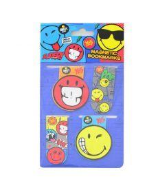 Закладки магнитные ''Smiley World''