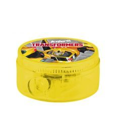 Точилка Kite с контейнером Transformers круглая TF17-116