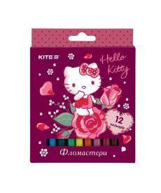 Фломастеры Kite 12 цветов Hello Kitty HK19-047