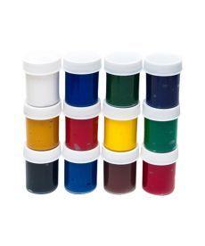Набор гуашевых красок Rosa 12x40мл