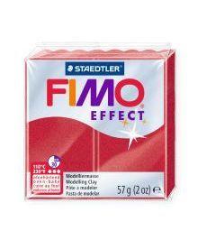 Пластика Effect Рубиново-красная металлик 57г Fimo