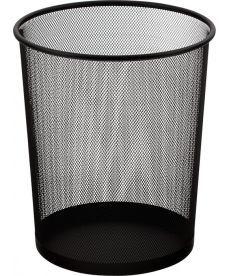 Корзина офисная для бумаг Buromax метал. черная 290x240x350мм BM.6270-01