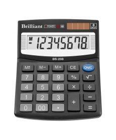Калькулятор Brilliant 8 разрядов 2-питан. BS-208