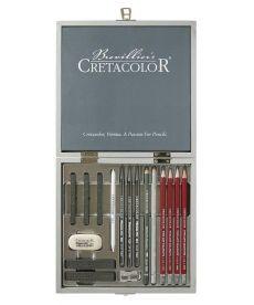 Набор для графики Silver Box 17 шт. дер упаковка Cretacolor