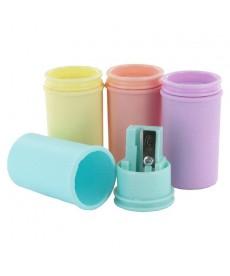 Точилка KUM с контейнером Mini Pastel пластик.,1 отделение 1870 k1 mini pastell