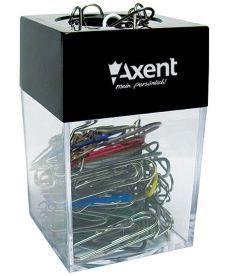 Диспенсер для скрепок Axent с магнитом 4120-А