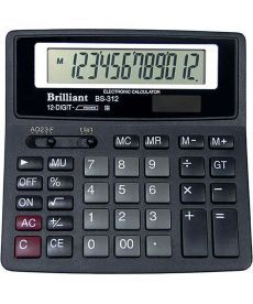 Калькулятор Brilliant 12 разрядов 2-питан. BS-312