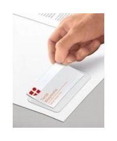 Карман для визитки PVC самоклеящийся 100х60мм