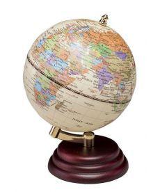 Глобус Bestar на деревянной подставке красное дерево 0909WPM