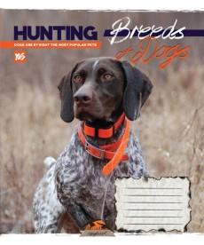 Тетрадь в линию 60 л. Yes А5 Hunting dogs 762201