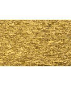 Бумага гофр. золот. 20% (50смX200см)