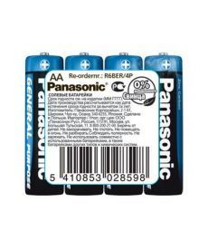 Эл.питания батарейка Panonic GENERAL PURPOSE CARBON LR6 АA