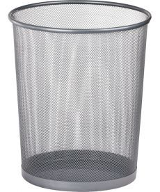 Корзина офисная для бумаг Buromax метал. серебро 290x240x350мм BM.6270-24