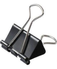 Биндер Axent 25 мм черный 12штук 4402-А