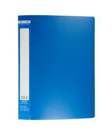 Папка с файлами Дисплей-книга Buromax А4 синий 30 файлов BM.3611-02
