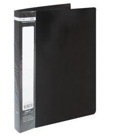 Папка с файлами Дисплей-книга Buromax А4 чёрный 60 файлов BM.3621-01
