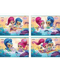 Альбом для рисования Kite A4 12л 120г/м2 Shimmer&Shine скоба SH18-241