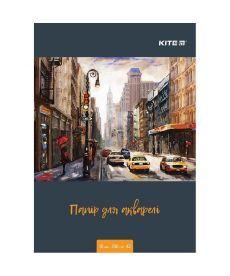 Бумага для акварели Kite А3 10листов 200г/м2 K18-268