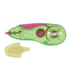 Корректор ленточный Axent 5ммX5м зелено-розовый 7006-02-A
