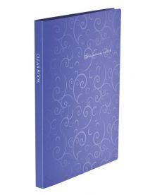 Папка с файлами Дисплей-книга Buromax BAROCCO А4 20 файлов фиолетовый BM.3607-14