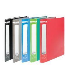 Папка с файлами Дисплей-книга Buromax А4 10 файлов синяя BM.3600-02