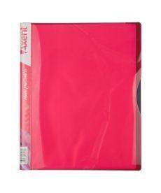 Папка с файлами Axent А4 дисплей-книга 20 файлов розовая 1120-10-A