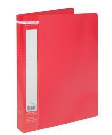 Папка с файлами Дисплей-книга Buromax А4 красный 40 файлов BM.3616-05