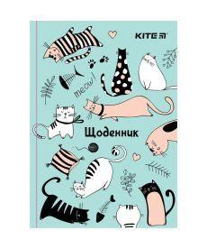 Дневник школьный Kite тв. переплёт Funny Cats K19-262-4
