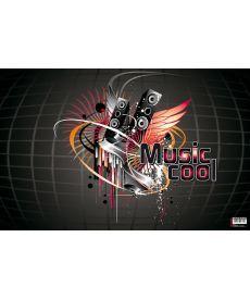 Подложка настольная Panta Plast Музыка с карманом 665x430мм 0318-0035-94