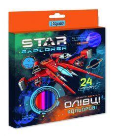 Олівці 24 кол. ''Star Explorer'' 1 Вересня 290550