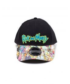 Кепка Rick and Morty - Sublimated Print Curved Bill Cap