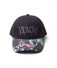 Кепка Marvel - Venom Logo Adjustable Cap