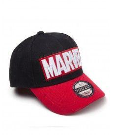 Кепка Marvel – Red Brick Logo Curved Bill Cap