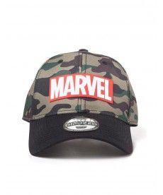 Кепка Marvel – Camouflage Logo Adjustable Cap