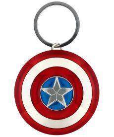 Брелок Captain America - Shield 3D Metal Keychain